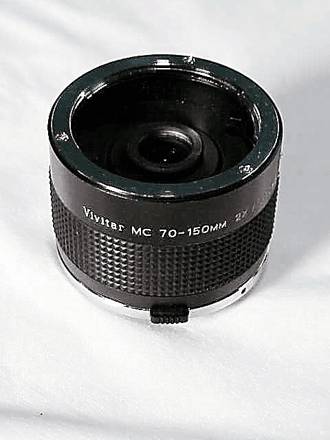 2x Vivitar MC 70-150mm Matched Doubler for Olympus Cameras