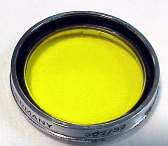 32mm slip on Yellow Filter for Retina IIIc