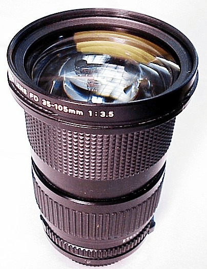 35-105mm f3.5 Canon FD Lens New Style Mount