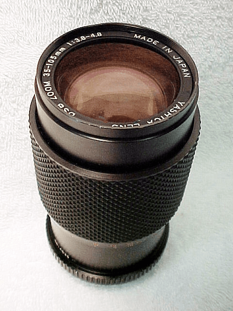 35-105mm f3.8-4.8 Yashica DSB Zoom Lens