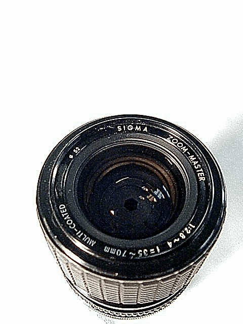 35-70mm f2.8-4.0 Sigma Brand  Lens for Konica