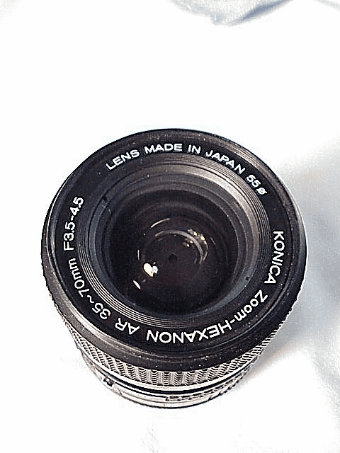 35-70mm f3.5-4.5 Hexanon for Konica