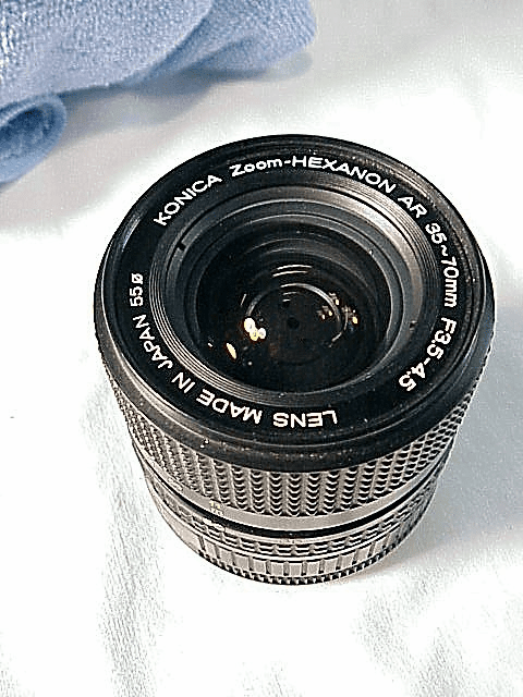 35-70mm f3.5-4.5 Hexanon for Konica Cameras