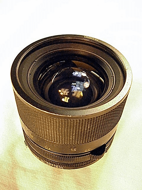 35-70mm f3.5 Tamron Lens (adaptall 2 mount required)