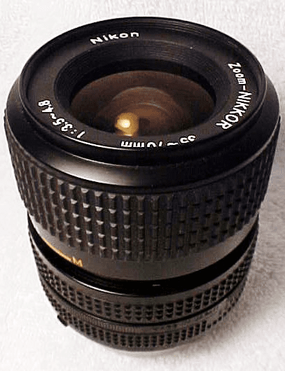 35-70mm f3.8-4.8 Zoom-Nikkor