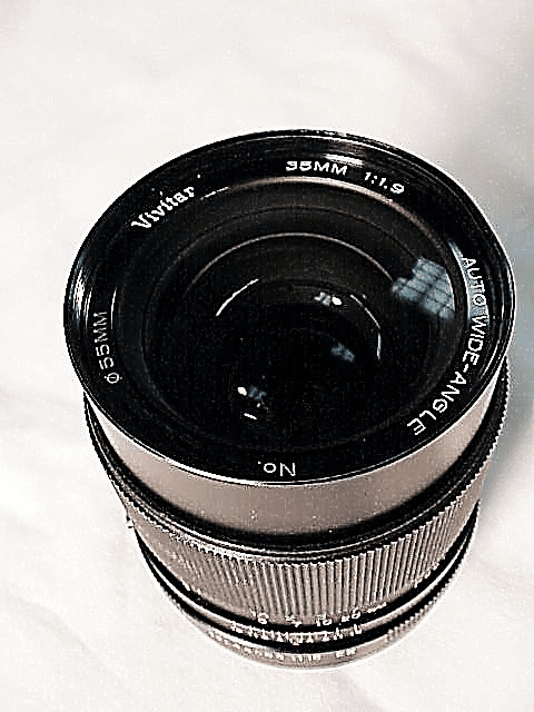 35mm f1.9 Vivitar Brand Lens for Konica (Very Fast)