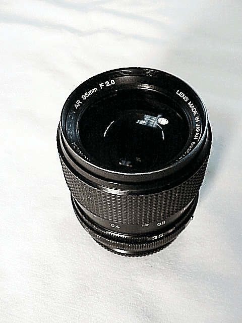 35mm f2.8 Hexanon Lens for Konica