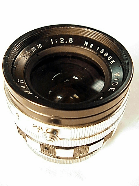 35mm f2.8 Vemar uncoated Exakta mount Manual Stop-down lens