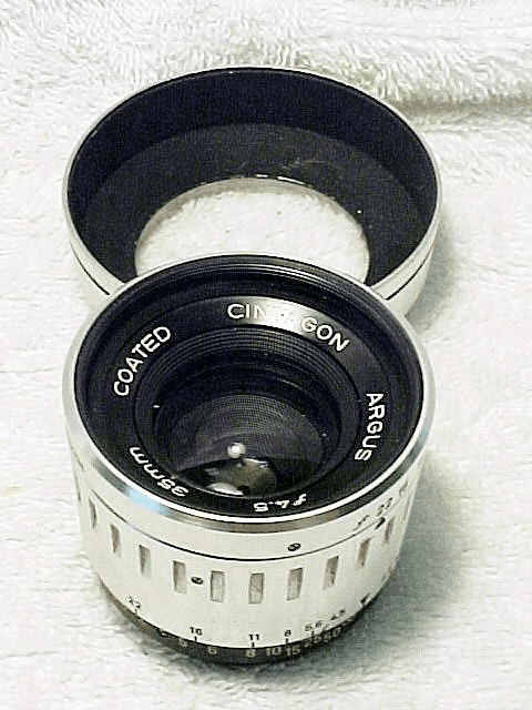 35mm f4.5 Cintagon Lens for Argus C44 (No8)