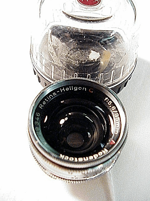 35mm f4 Heligon Lens for Retina BIG C cameras