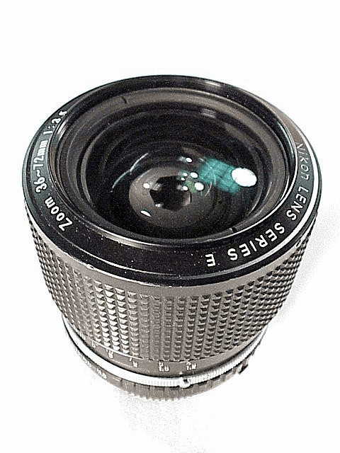 36-72mm f3.5 E Series Nikon Zoom AIS