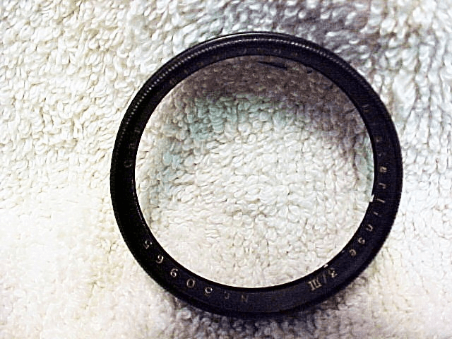 37mm Slip-On Distarlinse 3/III Carl Zeiss Jena