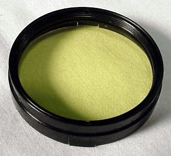 37mm slip-on Yellow/Green Super Ikonta Filter