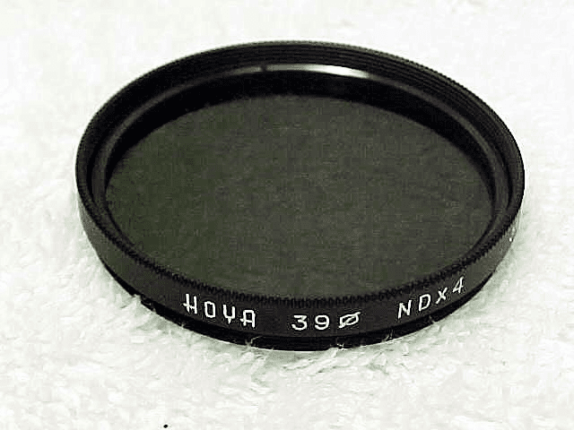 39mm Hoya NDx4 Filter fits Summicron (No 104)