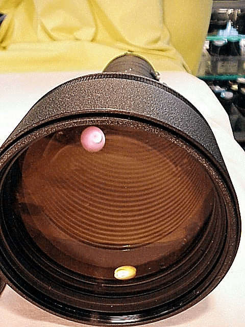 400mm f3.5 AIS ED Nikkor with cap and case