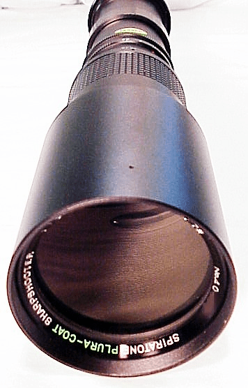 400mm f6.3 Spiratone T Mount Lens (fits any camera)