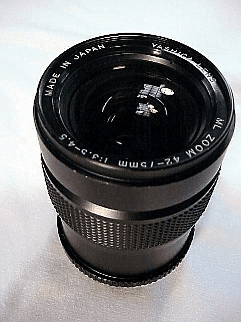 42-75mm f3.5-4.5 Yashica Brand Zoom Lens
