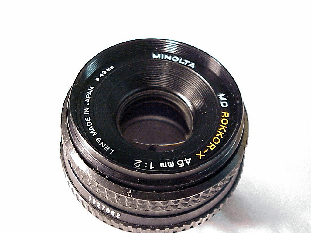 45mm f2.0 MD Rokkor-X for Minolta (No 28)