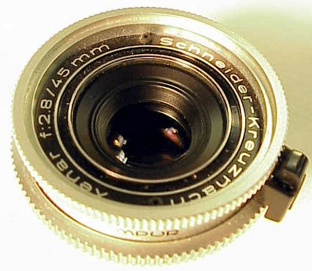"45mm f2.8 Schneider ""S"" for Retina Reflex S III and IV models"