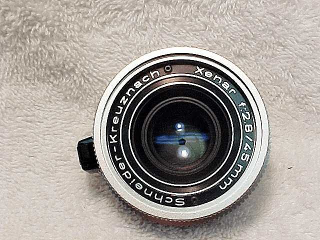 "45mm f2.8 Xenar ""S"" Type Lens for Retina Reflex Cameras"