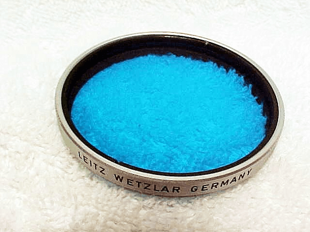 48mm Leitz Wetzlar Germany Blue Filter (No 102)