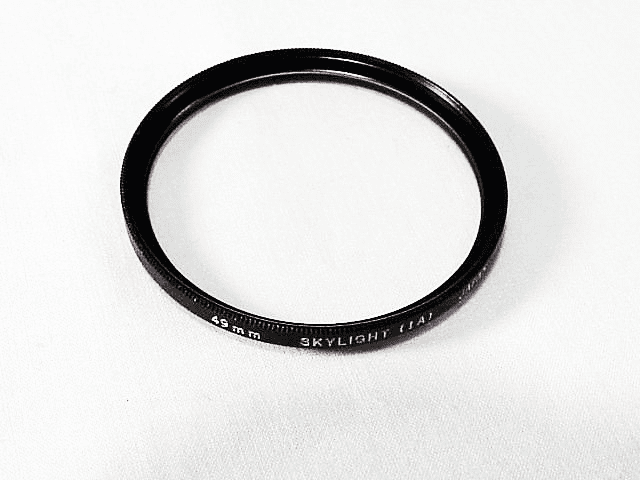 49mm Olympus Brand ultra thin  Skylight Filter