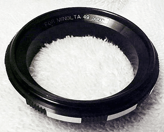 49mm Reverse Adapter Ring for Minolta (new) (No 50)
