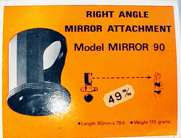 49mm Right Angle 90 Degree Mirror Attachment
