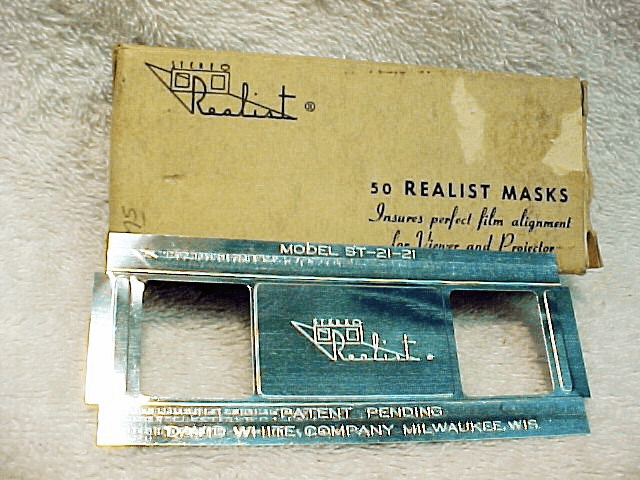 50 Stereo Realist Metal Masks (approx)