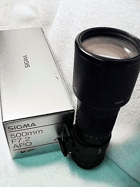 500mm f7.2 APO Sigma for Minolta MD (New)
