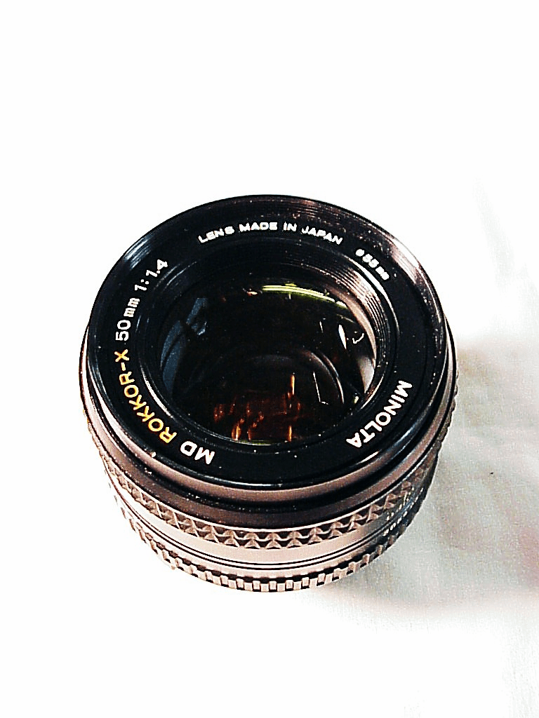 50mm f 1.4 MD Rokkor -X Lens for Minolta (No 45)