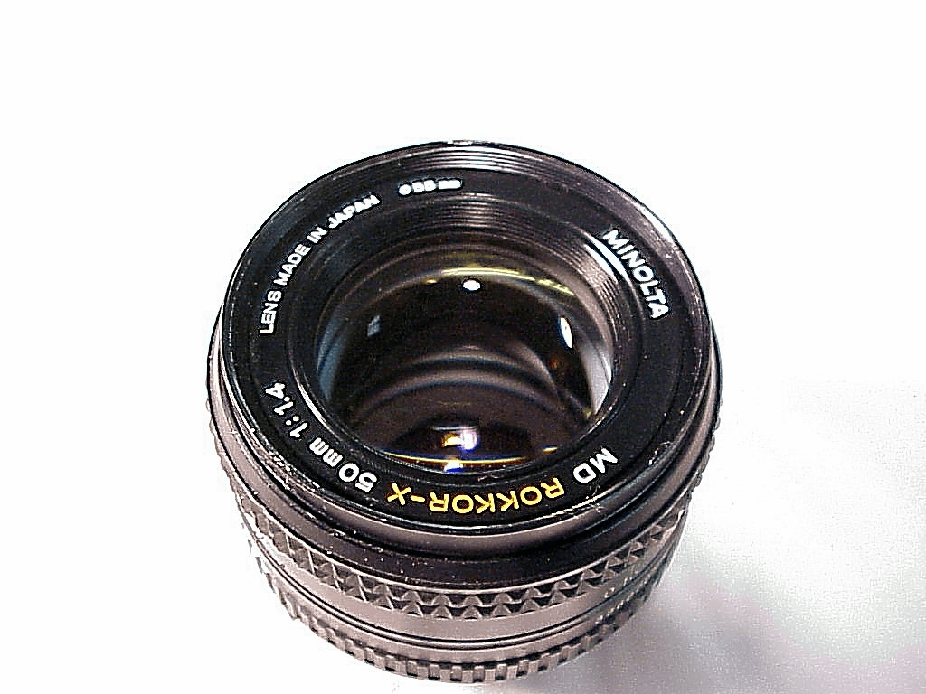 50mm f1.4 MD Rokkor-X for Minolta (No 27)