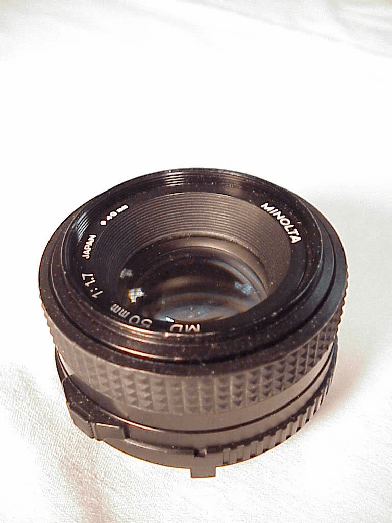 50mm f1.7 MD Minolta Lens for Cameras Minolta (No3)