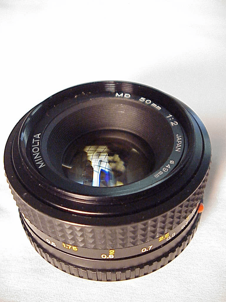 50mm f2.0 MD Lens for Minolta(No10)