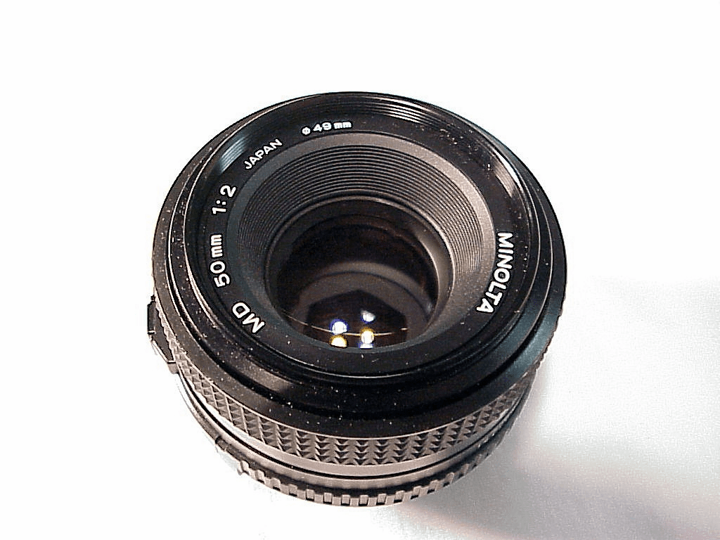 50mm f2.0 MD Minolta Lens (No 26)