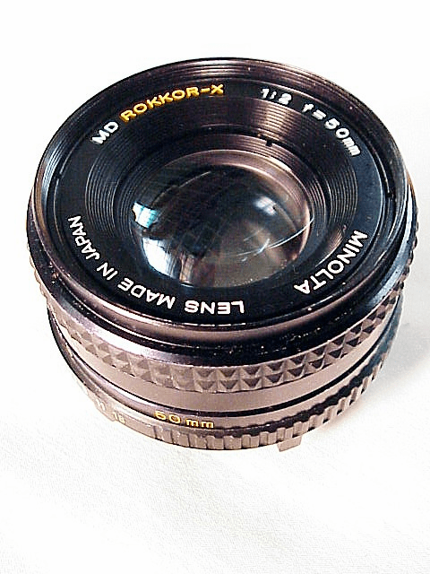 50mm f2.0 Minolta MD Rokkor X