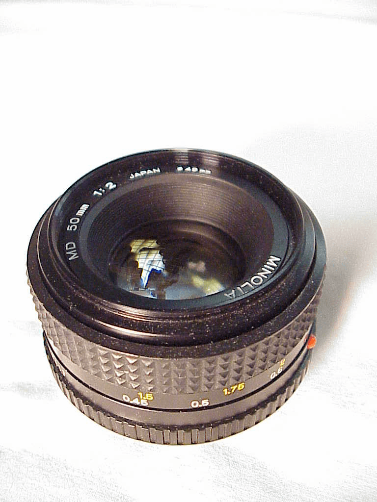 50mm f2 MD lens for Minolta (No11)