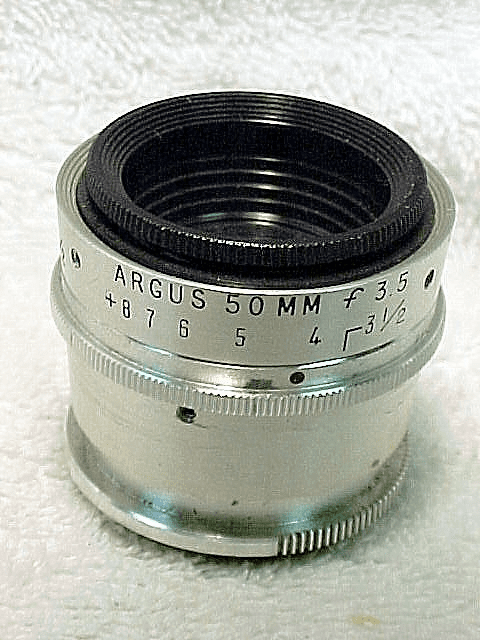 50mm f3.5 Cintar for Argus C3 Matchmatic (No1)