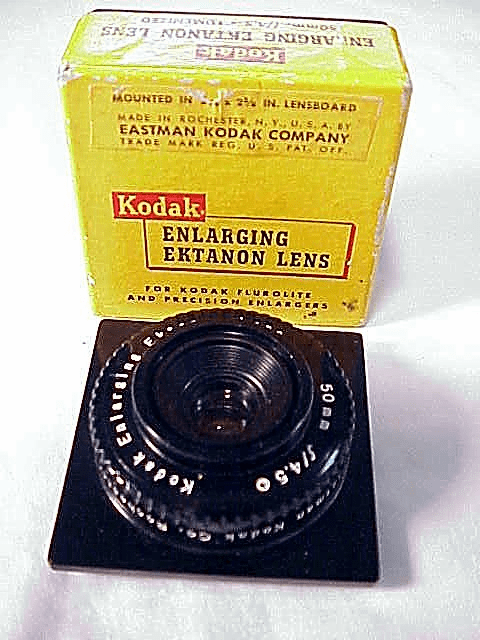 50mm f4.5 Kodak Enlarging Ektanon (No 30)