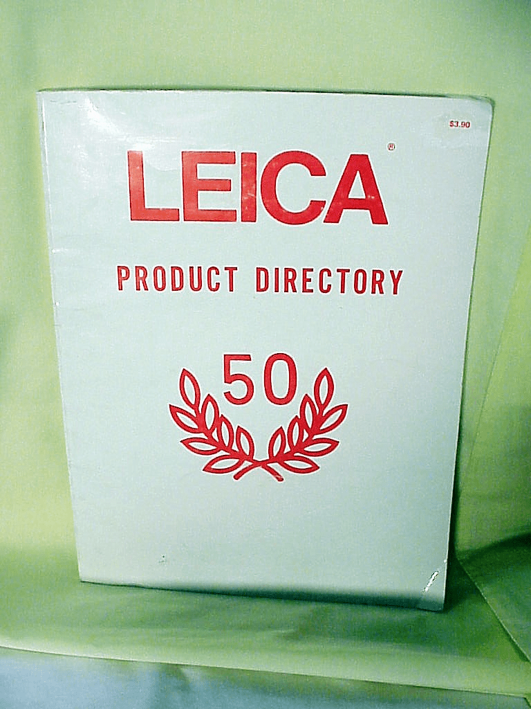 50th Anniv. Leica Product Directory (1976), 122pgs