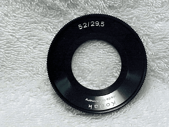 52mm to 29.5mm step-down Filter ring Retina Instamatic Reflex