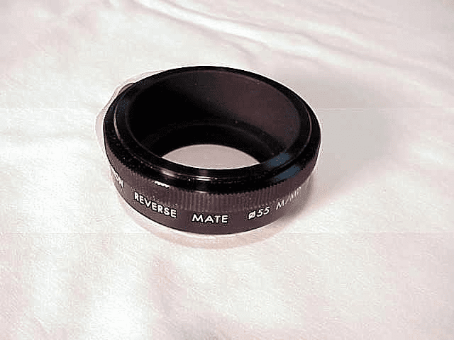 55mm Kiron Reversing Ring for Minolta M/MD (No 24)