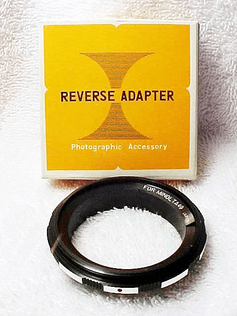 55mm Reverse Adapter for Minolta (new) (No 51)