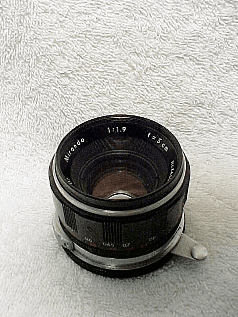 5cm f1.9  Soligar Lens with Arm for Miranda