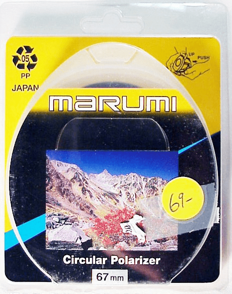 67mm Marumi Circular Polarizer (new)