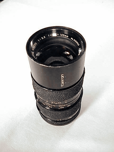 70-150mm f3.5 Tamron Lens (requires adaptall 2 mount)