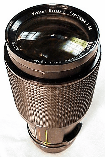 70-210mm f3.5 Vivitar Series I Lens for Konica