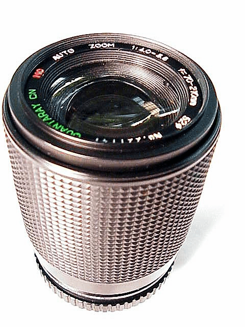 70-210mm f4.0-5.6 Quantaray Brand Lens for Minolta MD