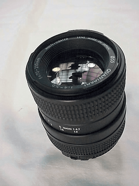 70-210mm f4.0-5.6 Quantaray Lens for Nikon AIS
