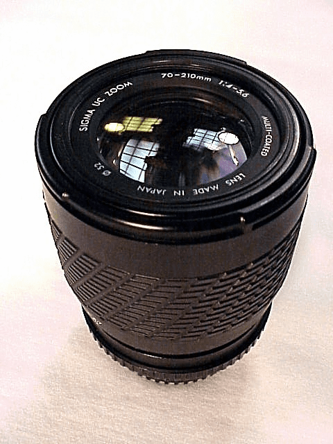 70-210mm f4.0-5.6 Sigma Zoom for Pentax K (A Series)